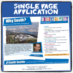 Why South? Single Page Application